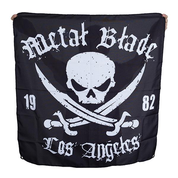 Pirate Logo Flag