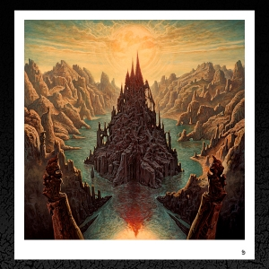 "Rivers of Nihil. ""Monarchy' Album Cover"