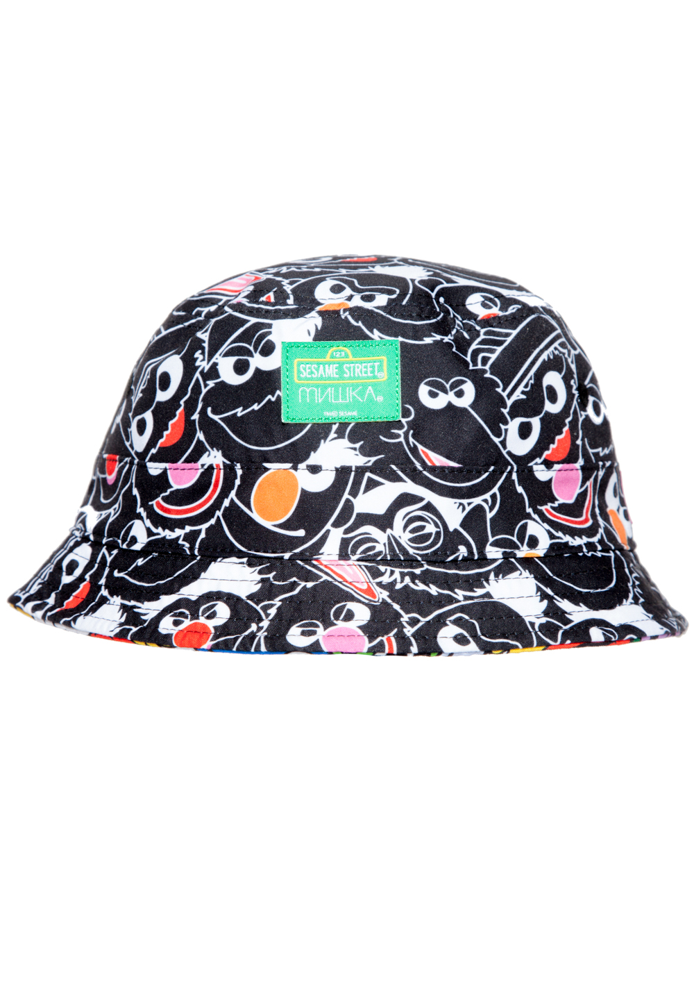 Sesame Heads Reversible Bucket