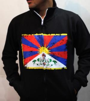 Tibetan Flag jacket