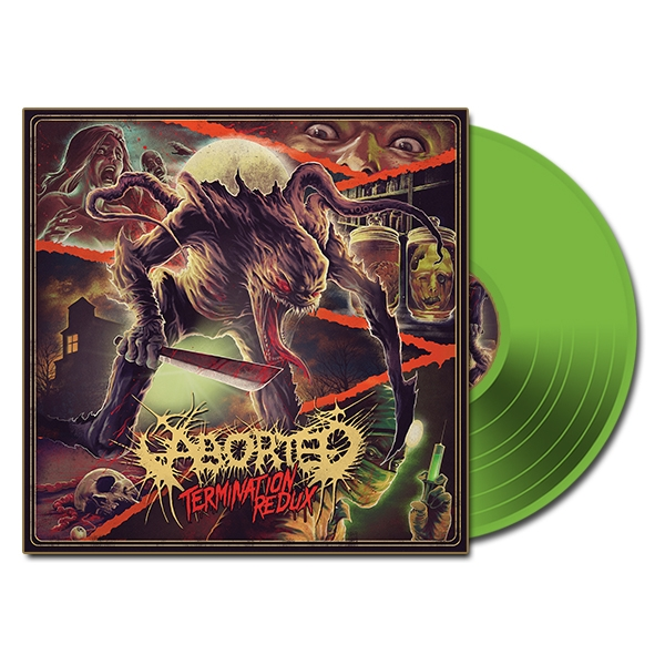 Termination Redux (EP) (10 inch Vinyl (Transp. Green)