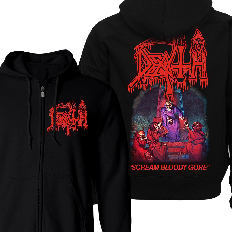 Death /'Scream Bloody Gore/' Pullover Hoodie NEW