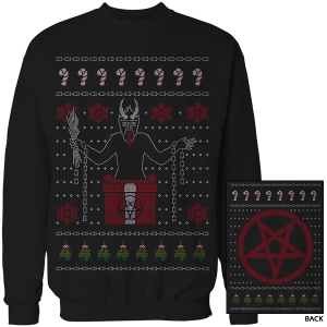 """KRAMPUS"" 2015 Christmas Sweater Sweatshirt (Black)"