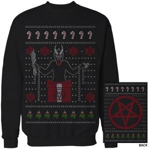"""KRAMPUS"" 2015 Christmas Sweater Sweatshirt (Black)"