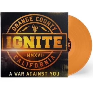A War Against You (LP+CD) (Transp. Orange)