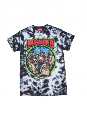 Lamour Living Death Adders Tie Dye Tee