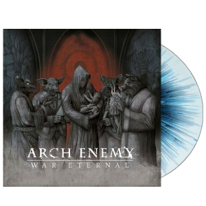 War Eternal - White with Blue/Black Splatter (LP)