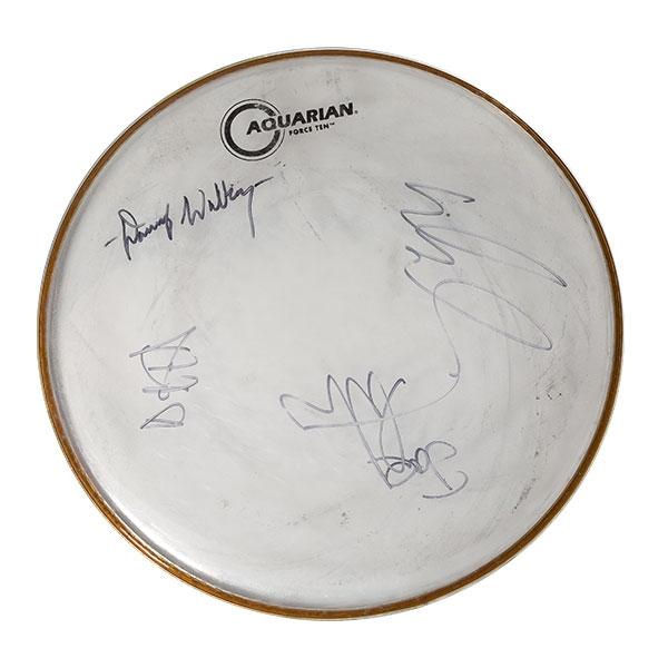 Signed Drum Head