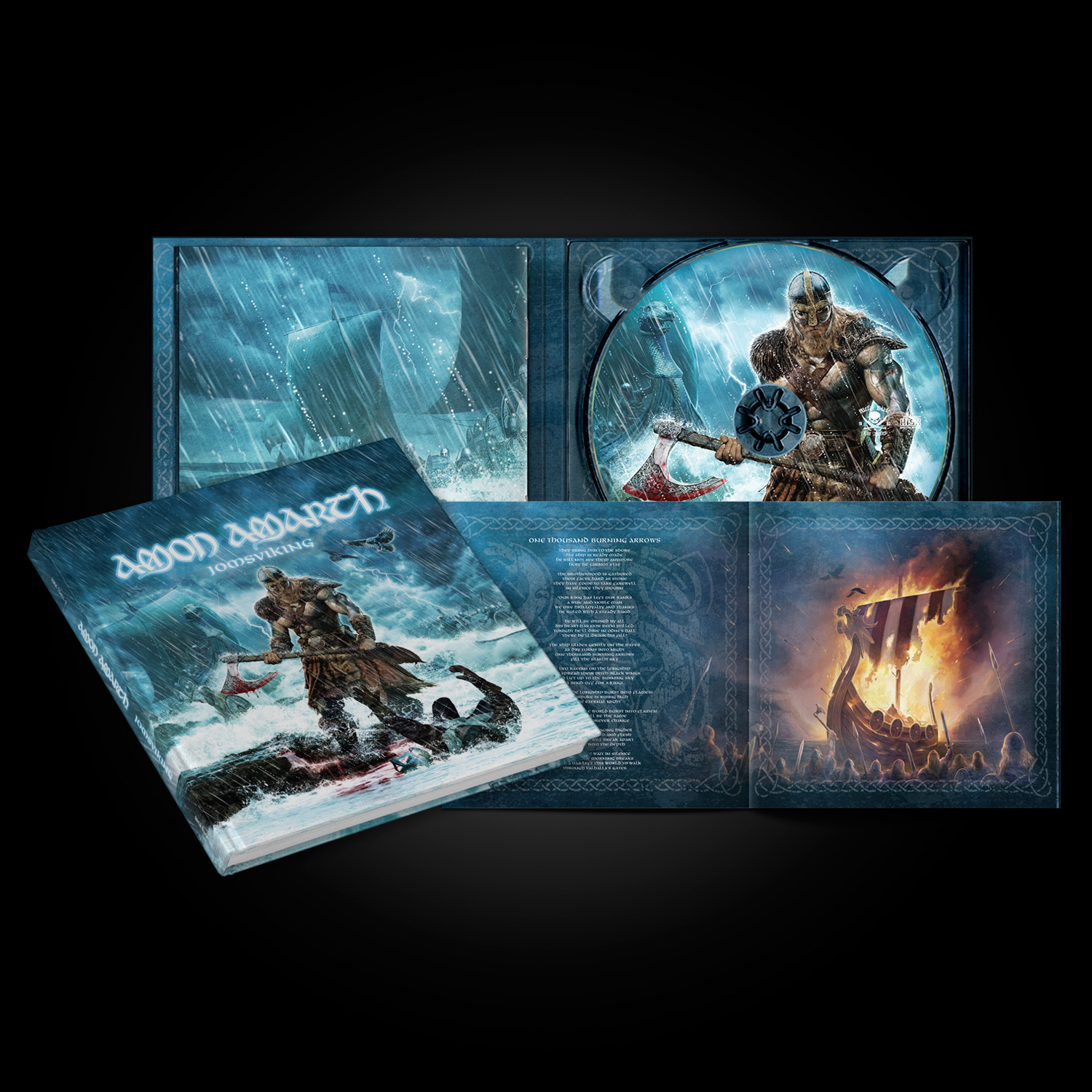 amon amarth jomsviking cd metal blade records. Black Bedroom Furniture Sets. Home Design Ideas