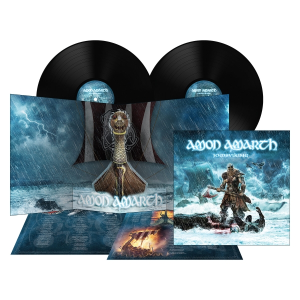 Amon Amarth Quot Jomsviking Double Lp Quot 2x12 Quot Metal Blade
