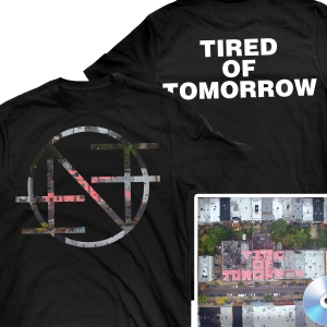 Tired of Tomorrow CD + Tired Of Tomorrow T Shirt Bundle