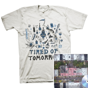 Tired of Tomorrow CD + FTW (White) T Shirt Bundle