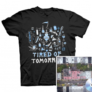 Tired of Tomorrow CD + FTW (Black) T Shirt Bundle