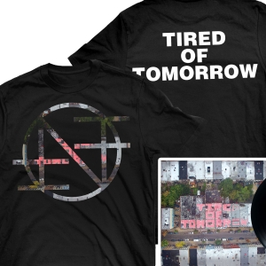Tired of Tomorrow LP + Tired Of Tomorrow T Shirt Bundle