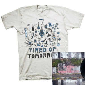 Tired of Tomorrow LP + FTW (White) T Shirt Bundle