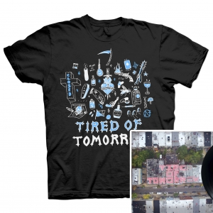 Tired of Tomorrow LP + FTW (Black) T Shirt Bundle