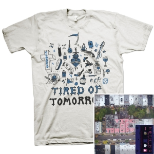 Tired of Tomorrow Cassette + FTW (White) T Shirt Bundle