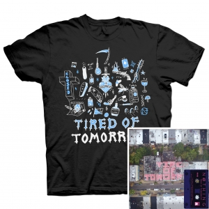 Tired of Tomorrow Cassette + FTW (Black) T Shirt Bundle