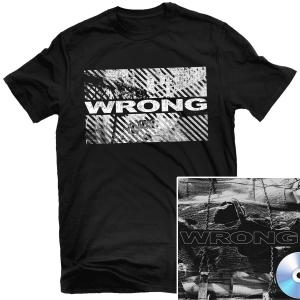 Wrong CD + T Shirt Bundle