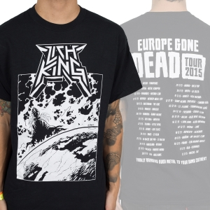 Europe Gone Dead Tour Shirt