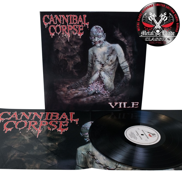 "Cannibal Corpse ""Vile"" 12"" - Metal Blade Records