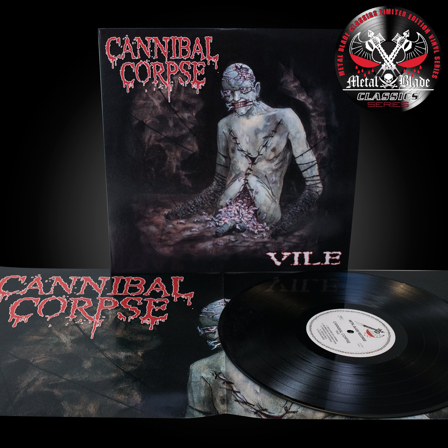 "Cannibal Corpse ""Classics Vinyl Bundle"" Bundle ...