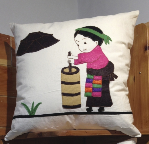 Pillow cover (Girl Image)