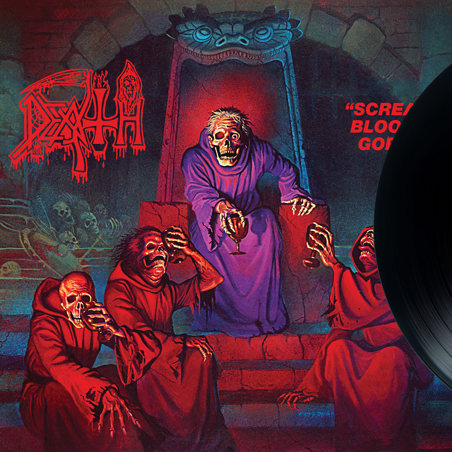 "Death ""Scream Bloody Gore Reissue"" 12"" - Relapse Records"