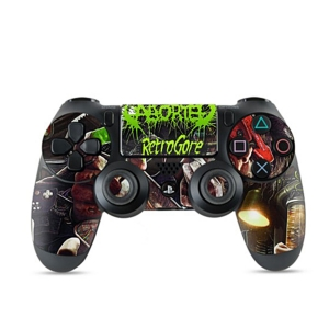 Retrogore PS4 Controller Skin