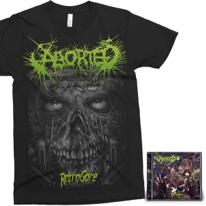 Retrogore CD + T-Shirt Bundle