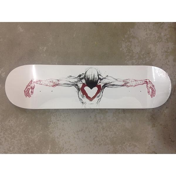 Burned Out Skateboard