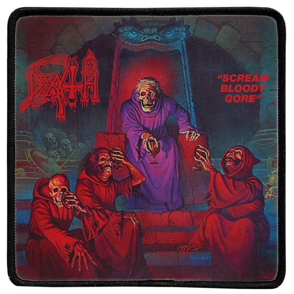 Scream Bloody Gore Back Patch
