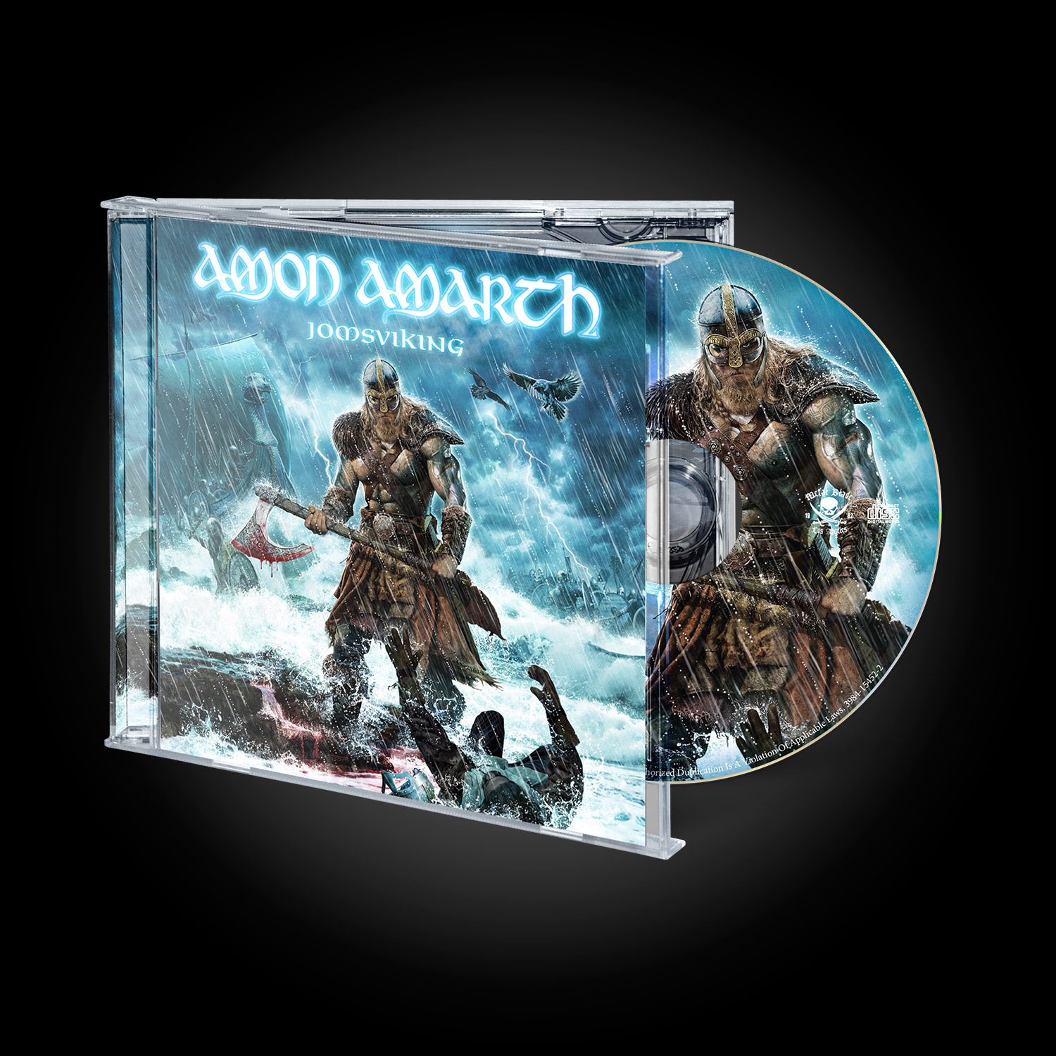 amon amarth jomsviking jewel case cd metal blade records. Black Bedroom Furniture Sets. Home Design Ideas