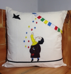 Pillow cover (Boy Image)