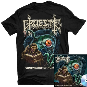 Dimensions of Horror T Shirt + CD Bundle