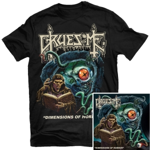 Dimensions of Horror T-shirt + LP Bundle