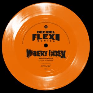 "Misery Index ""Primitive Future"" Flexi-disc"