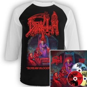 Scream Bloody Gore Raglan + 3xCD Deluxe Bundle
