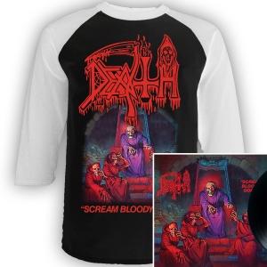Scream Bloody Gore Raglan + LP Bundle