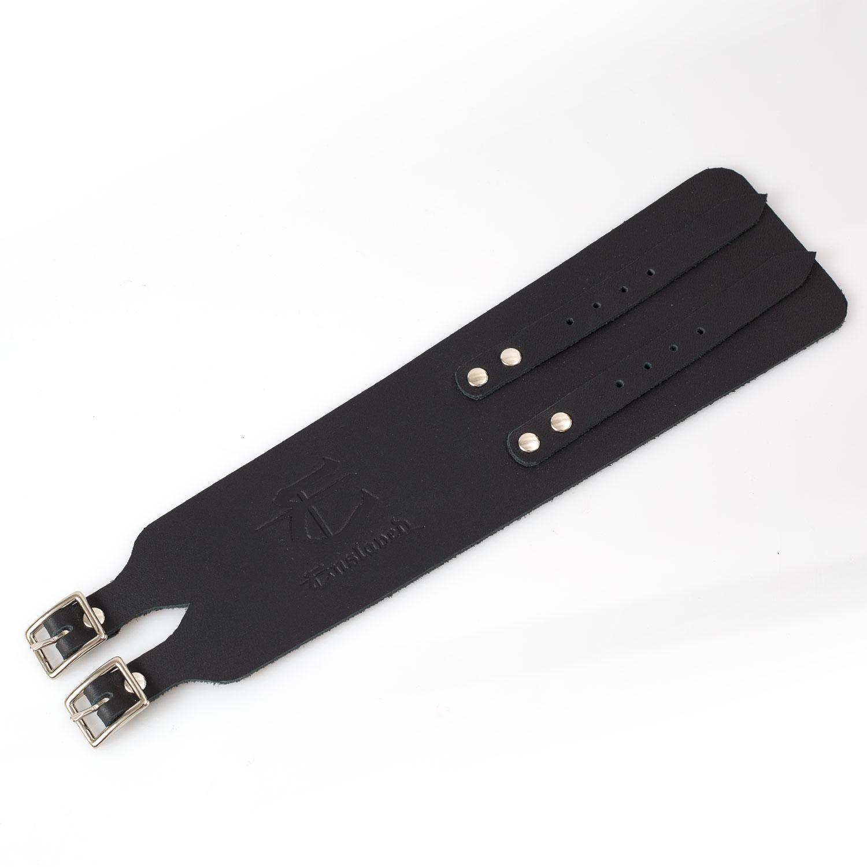 E Leather Wristband