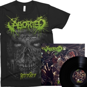 "Retrogore Black 12""/CD + T-shirt Bundle"