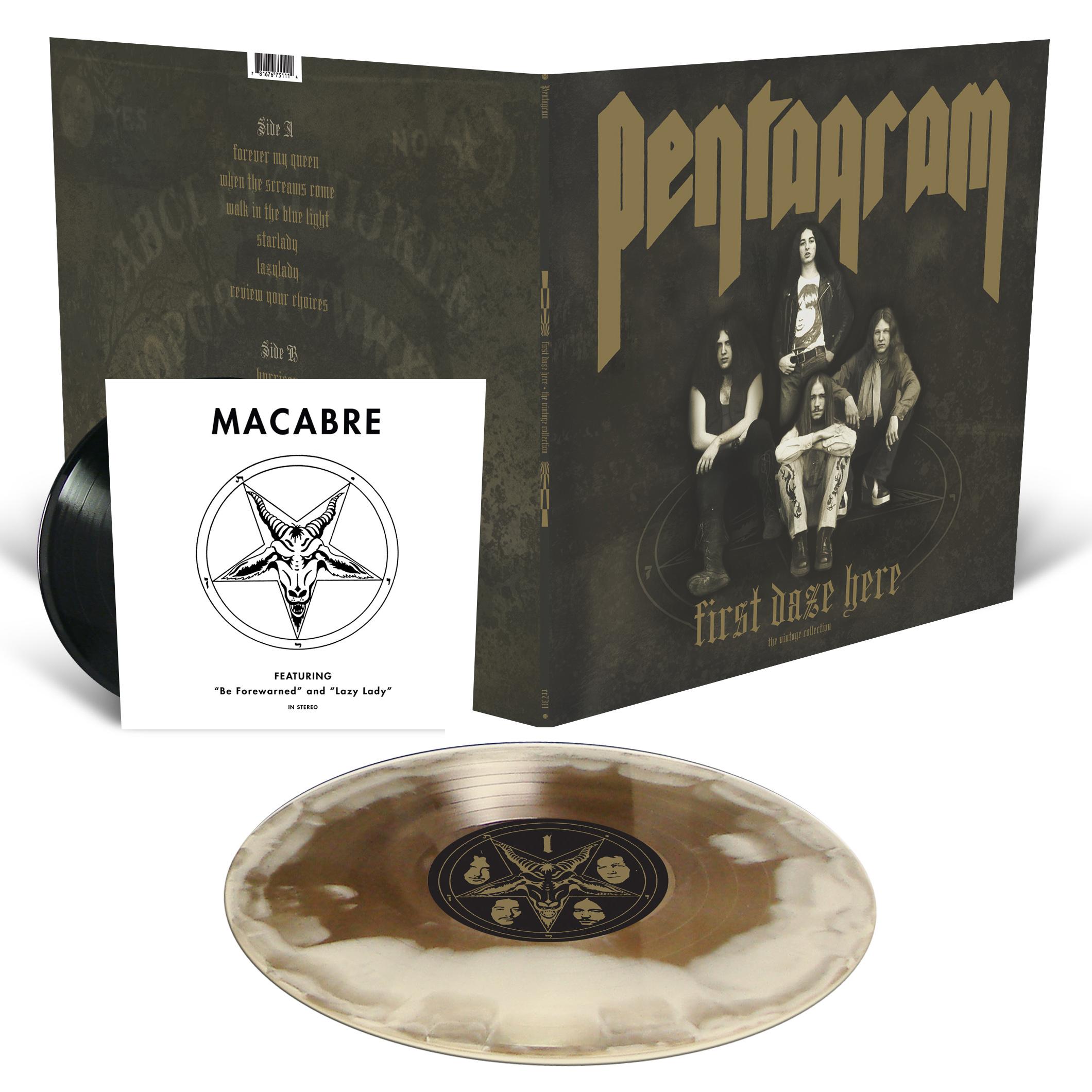 Pentagram Quot Logo T Shirt First Daze Here Reissue Lp