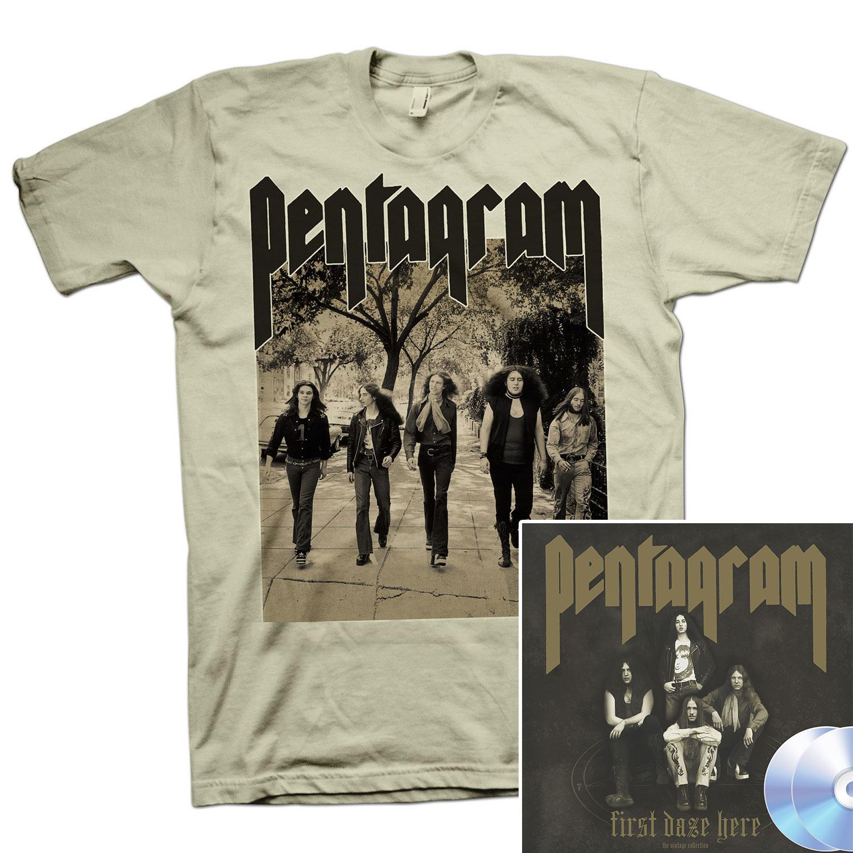 First Daze Here Too T Shirt + First Daze Here Reissue 2CD Bundle