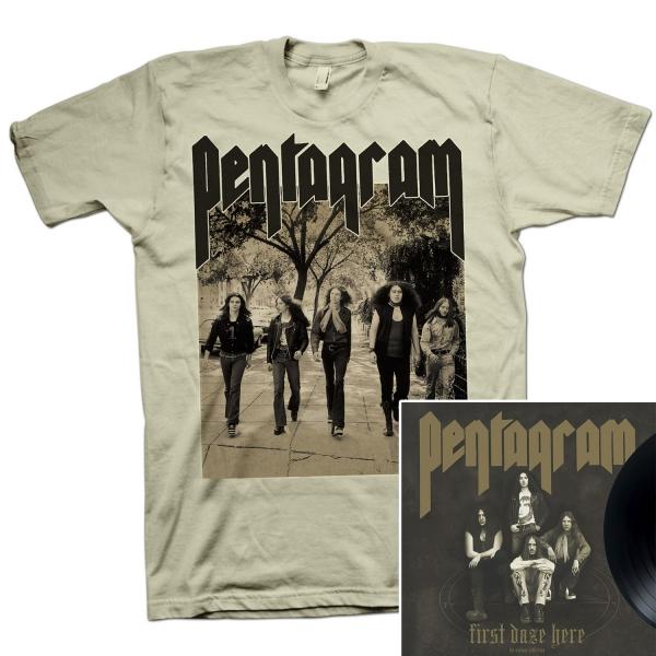 First Daze Here Too T Shirt + First Daze Here Reissue LP Bundle