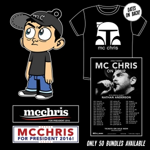 MC Chris 2016 Mega Tour Bundle