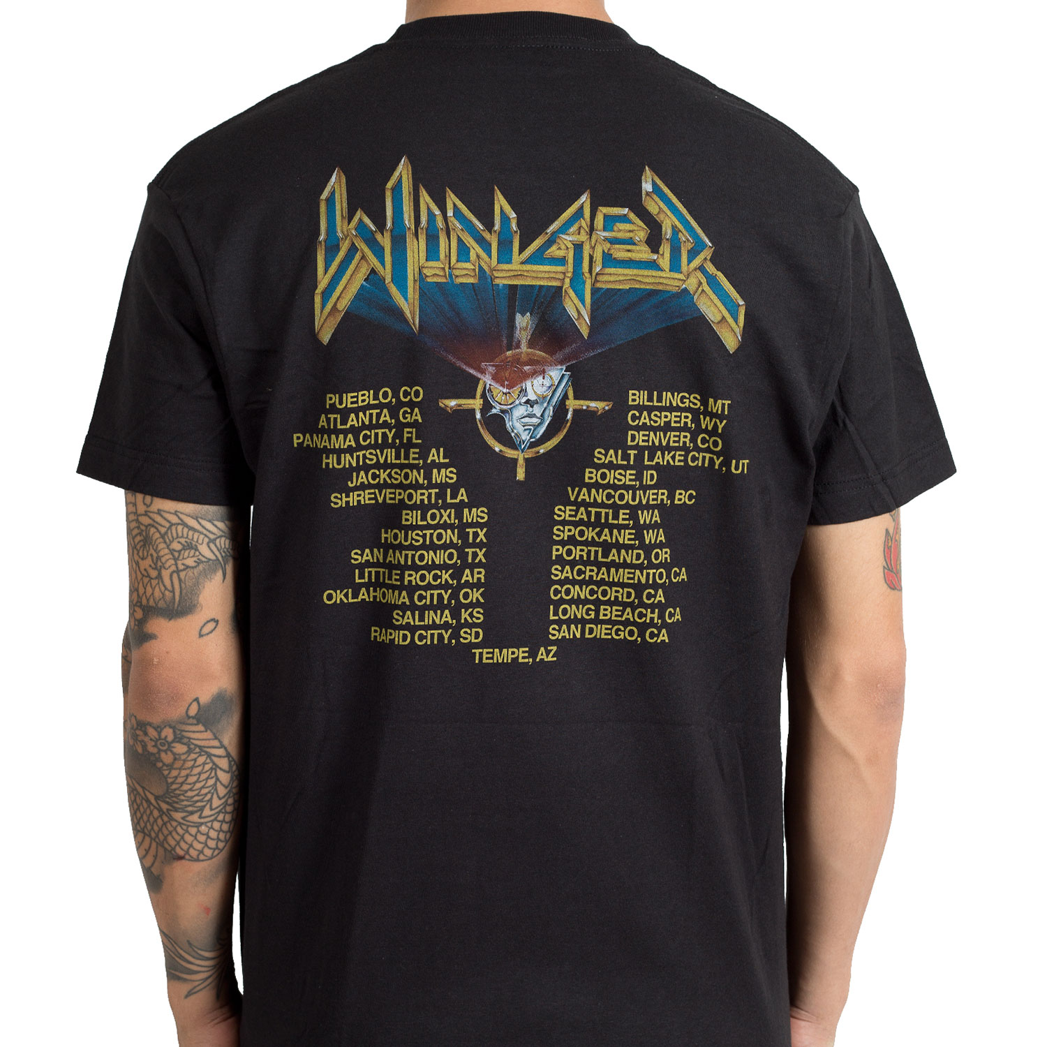 Winger Quot In The Heart Of The Young Tour Quot T Shirt