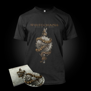 Pre-Order: Mark of the Blade - T-Shirt CD Bundle