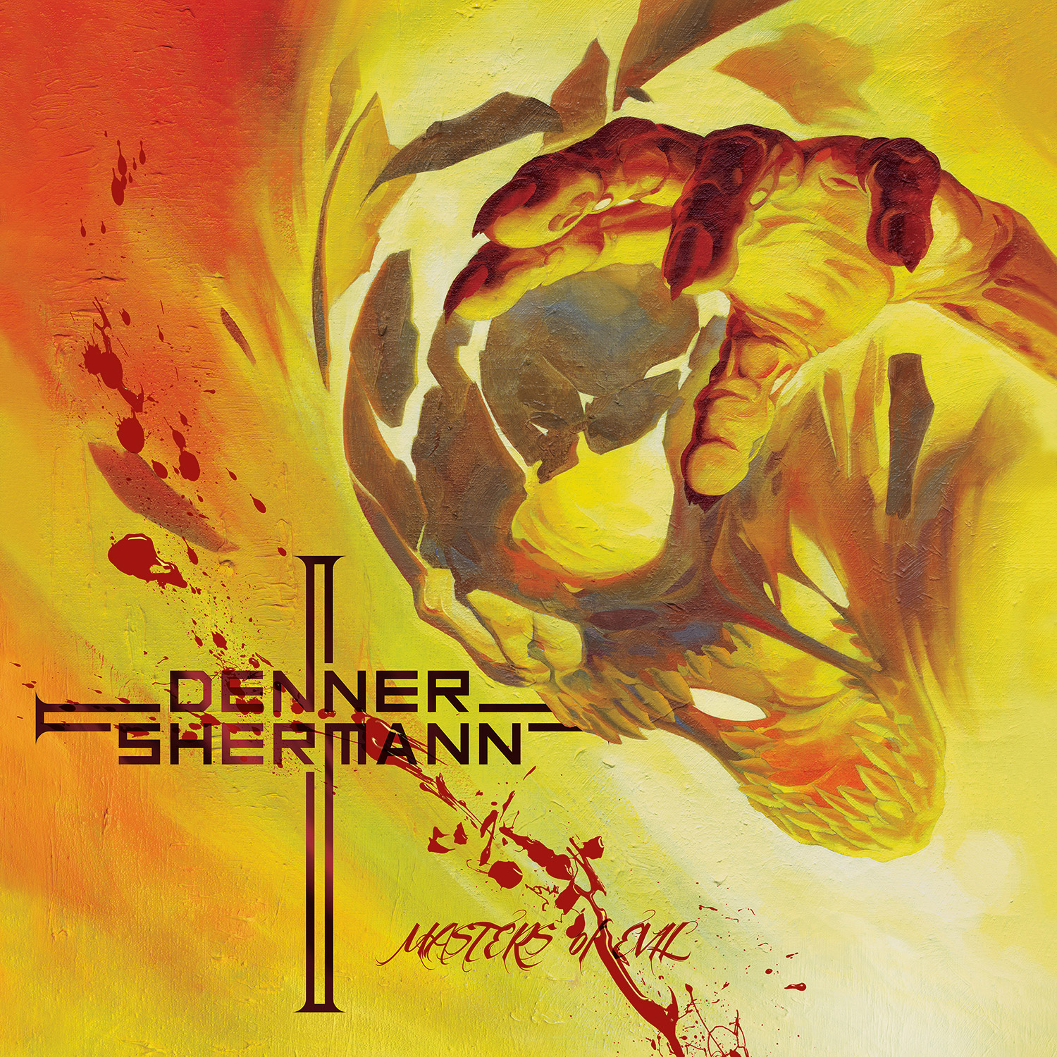 Denner Shermann Quot Masters Of Evil Quot Cd Metal Blade Records