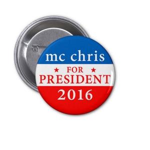 2016 presidential button