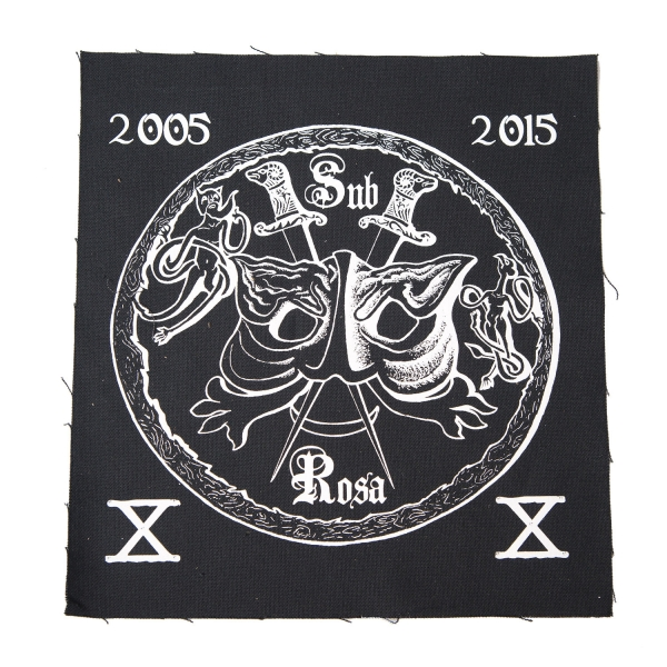 """SubRosa """"SubRosa 10th Anniversary Back Patch"""" Patch - All ..."""